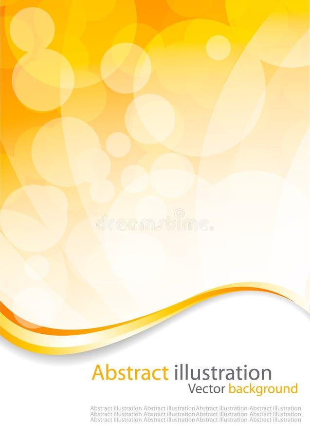 abstrakt begrepp cirklar färgrikt stock illustrationer