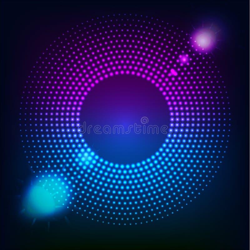 Abstrakt begrepp färgad form för din affärsidé Vektorlogoillustration stock illustrationer