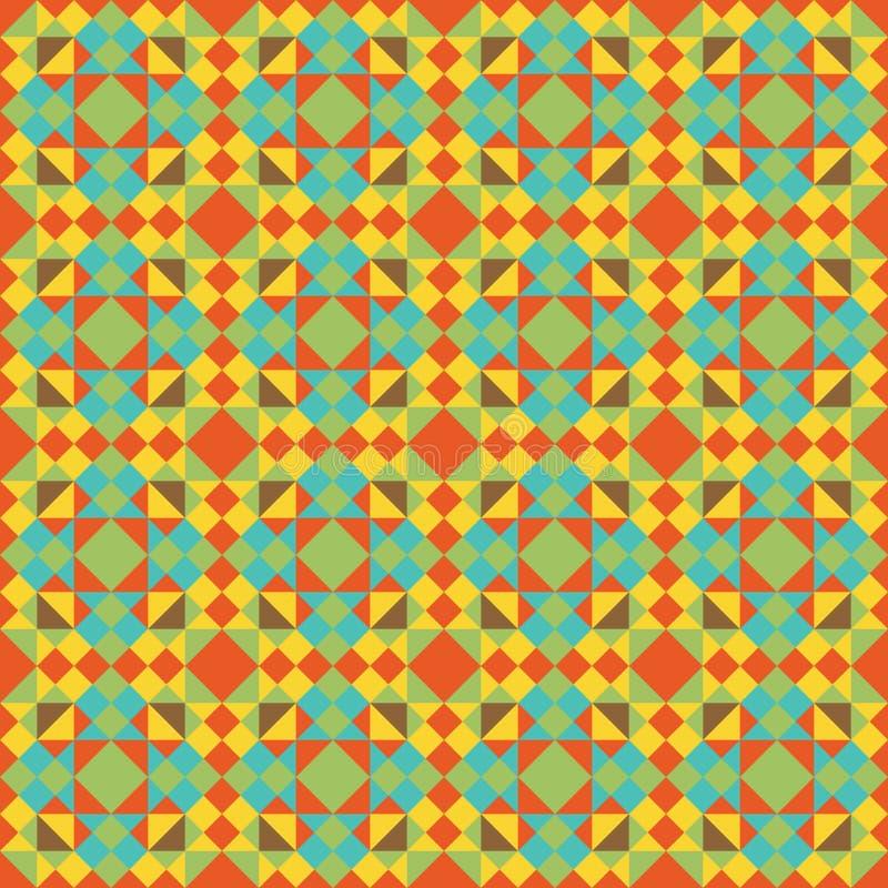 Abstrakt begrepp färgar seamless mönstrar royaltyfria foton