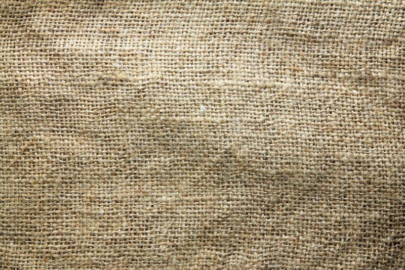 Abstrakt begrepp för bakgrund för textur för säckvävsäck royaltyfria foton