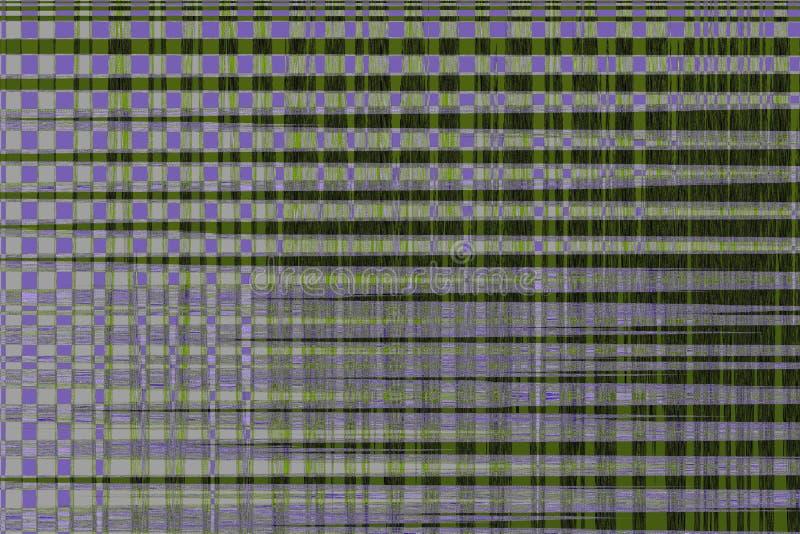 Abstrakt begrepp för bakgrund för tekniskt felvhs-oväsen, digital television stock illustrationer