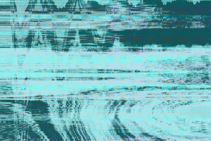 Abstrakt begrepp för bakgrund för tekniskt felvhs-oväsen, fel royaltyfria foton