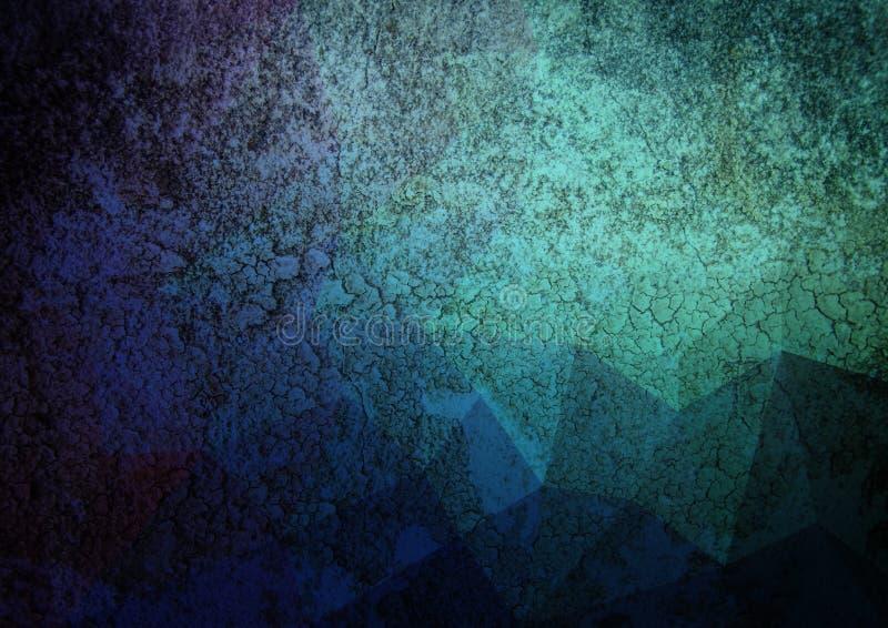 Abstrakt begrepp för Grungelutningfärg arkivfoton