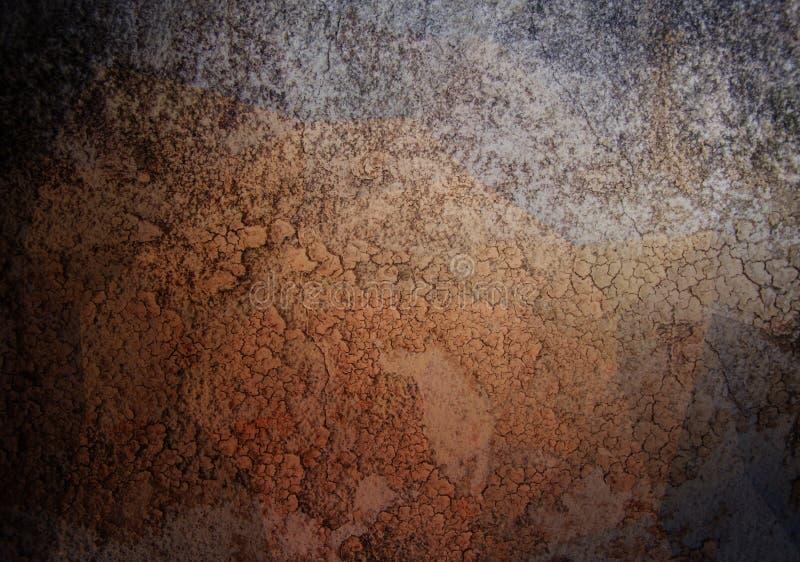 Abstrakt begrepp för Grungelutningfärg royaltyfri fotografi