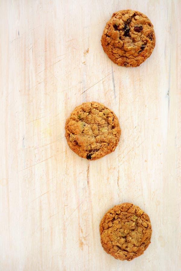 Abstrakt begrepp för kakor för Macadamiachokladstor bit royaltyfri bild