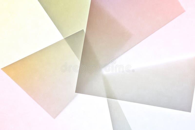 Abstrakt begrepp för lutningpapperstextur fotografering för bildbyråer
