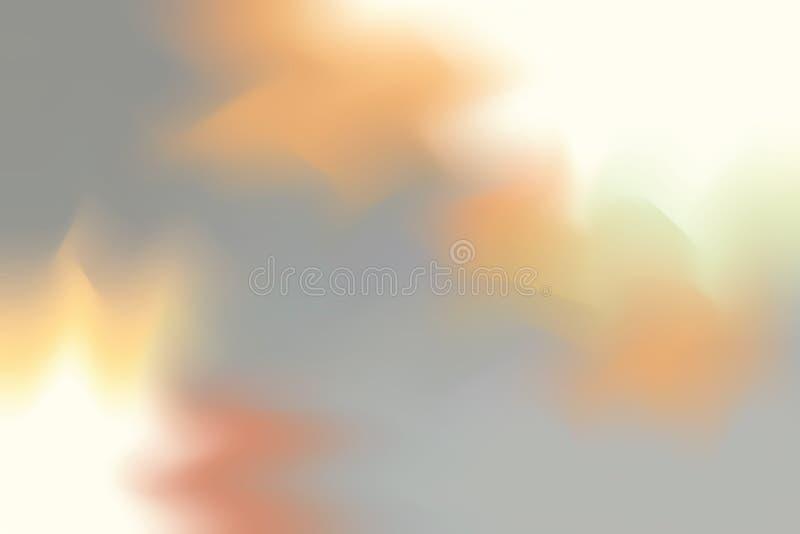 Abstrakt begrepp för pastell för konst för målning för bakgrund för gul mjuk färg för grå färger blandat, färgrik konsttapet stock illustrationer