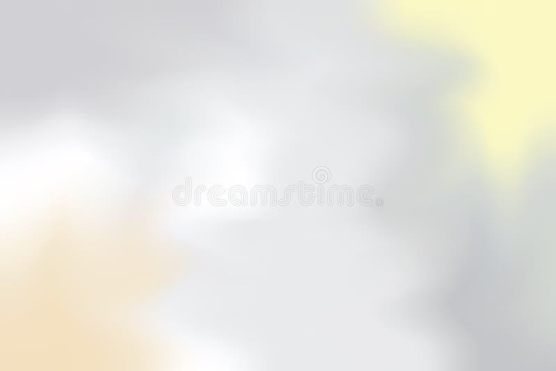 Abstrakt begrepp för pastell för konst för målning för bakgrund för mjuk färg för grå vit blandat, färgrik konsttapet vektor illustrationer