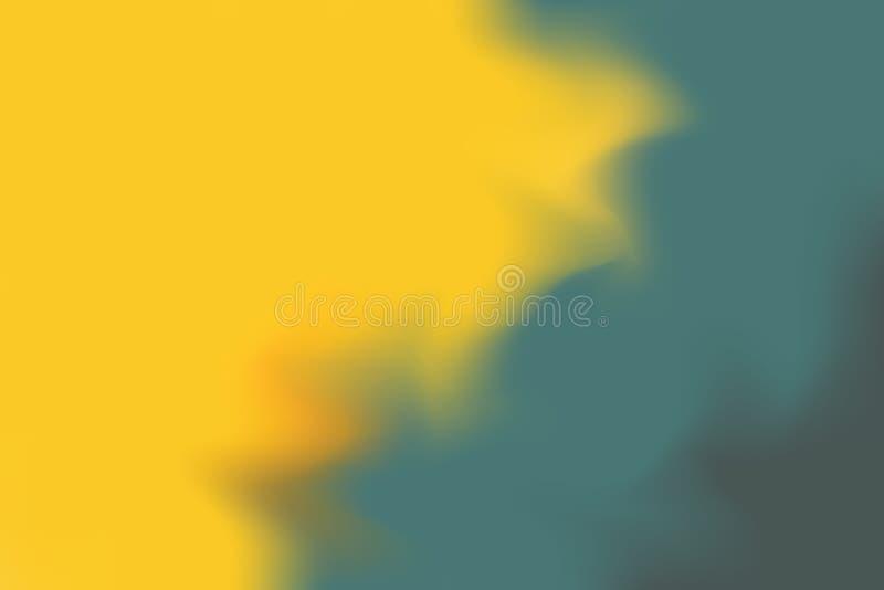 Abstrakt begrepp för pastell för konst för målning för bakgrund för mjuk färg för gul gräsplan blandat, färgrik konstwallpape vektor illustrationer