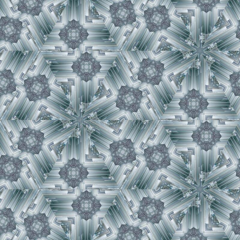 Abstrakt begrepp f?r bakgrund f?r mosaik f?r modellexponeringsglas Tapetkonst stock illustrationer