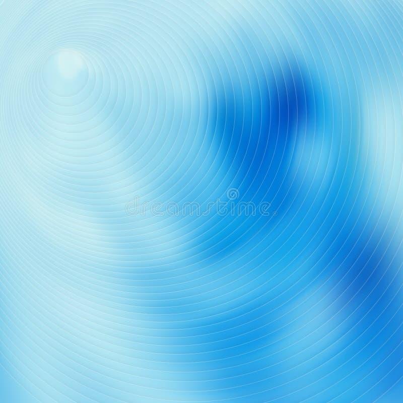 Abstrakt begrepp f?r bl?tt f?r turkossuddighetsbakgrund modell stock illustrationer