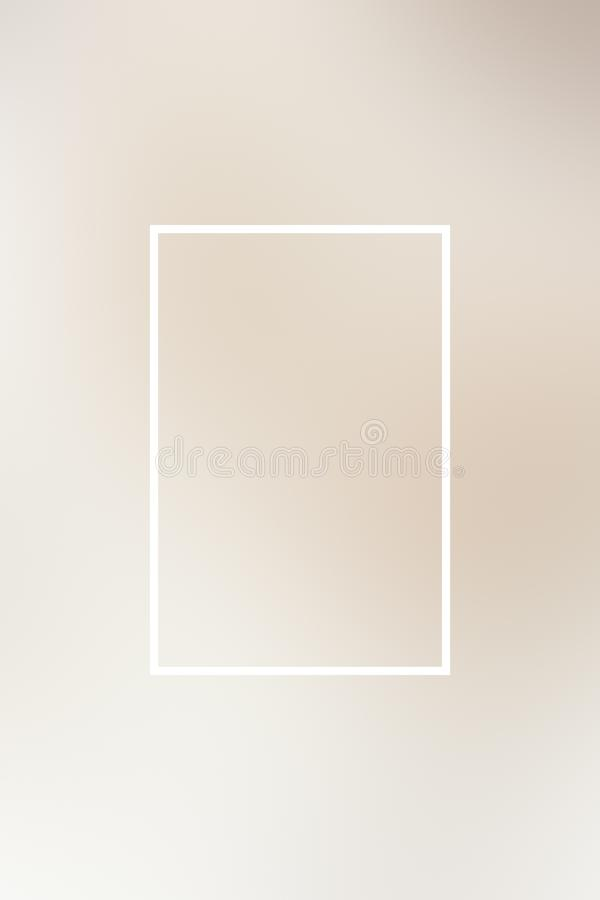 Abstrakt begrepp f?r ram f?r bakgrundssuddighetslutning, design stock illustrationer