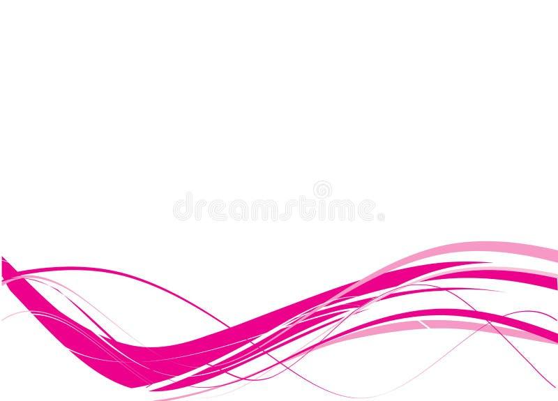 abstrakt begrepp lines vektorn royaltyfri illustrationer