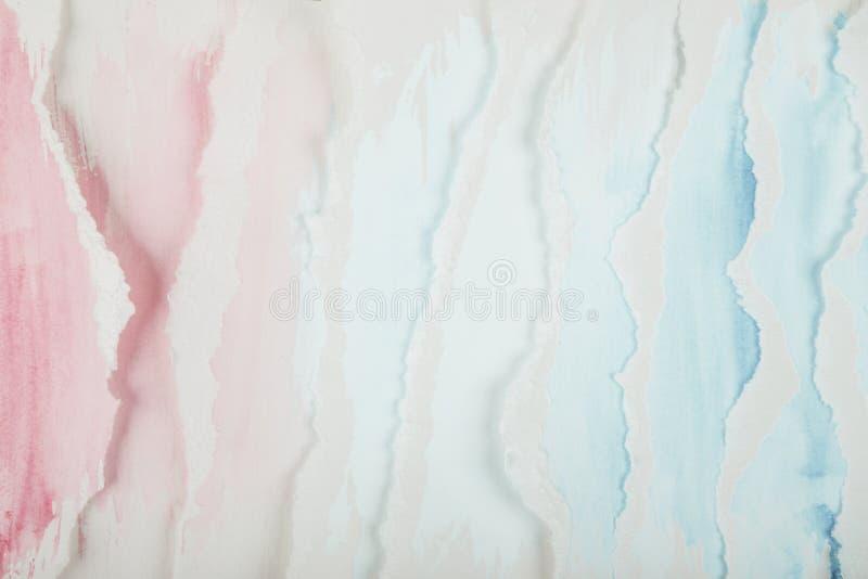 Abstrakt begrepp målade vågor royaltyfri bild