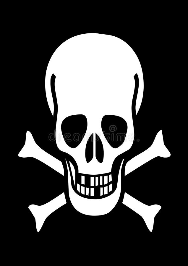 Abstrakt begrepp piratkopierar svart bakgrund royaltyfri fotografi