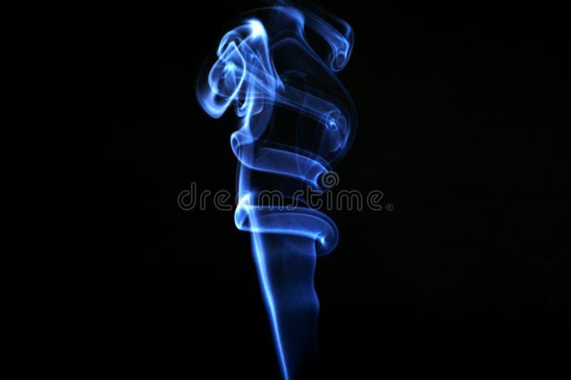 Abstrakt begrepp röker arkivfoto