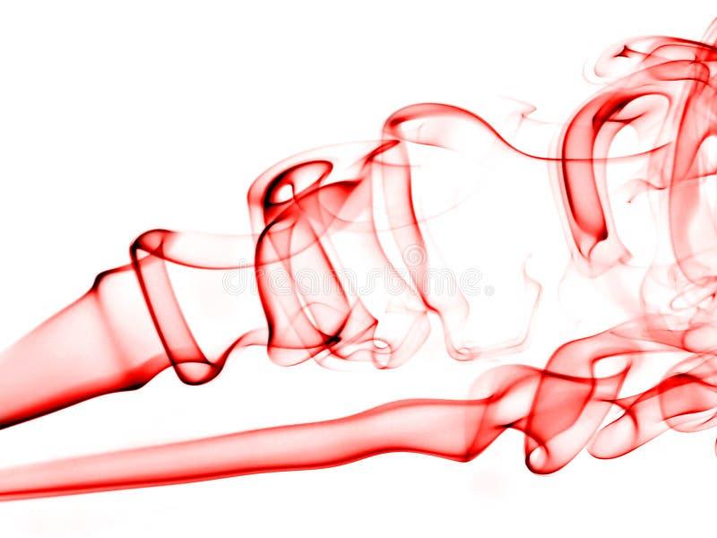 abstrakt begrepp röker jag white royaltyfria foton
