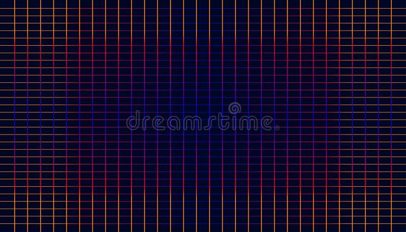 Abstrakt begrepp som är färgrikt av modern bakgrundsstil för pläd illustration eps10 stock illustrationer