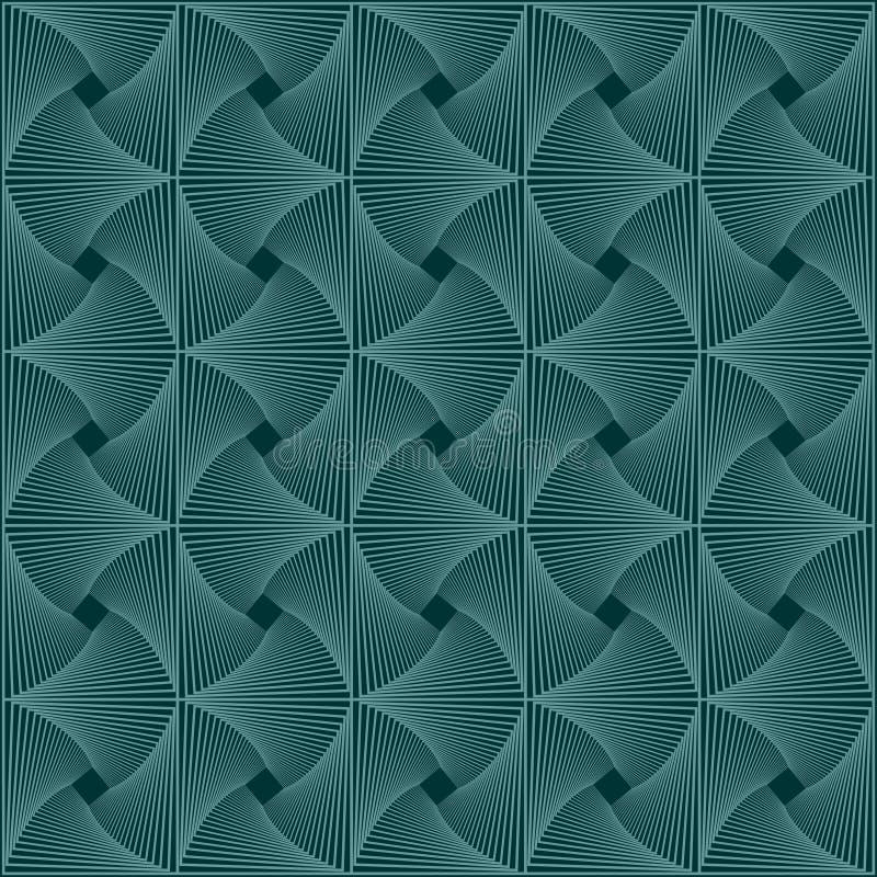Abstrakt begrepp stucken grön lavmodell stock illustrationer