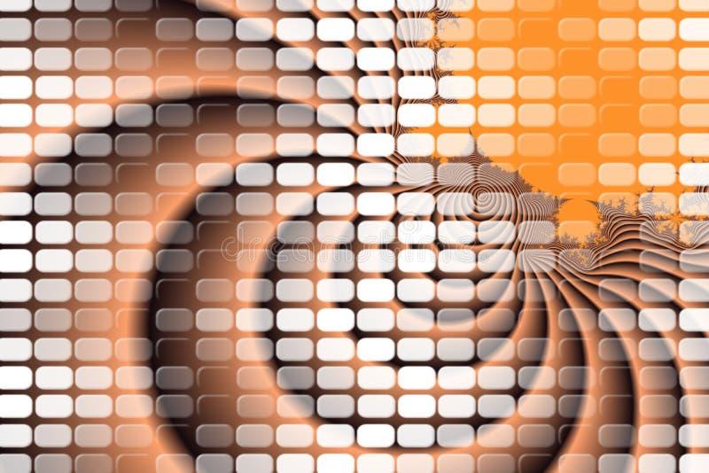 Abstrakt begrepp vinkar backgrouns i beiga arkivfoto