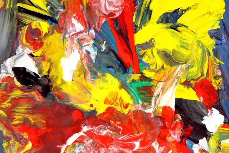 Abstrakt begreppfärger arkivfoton