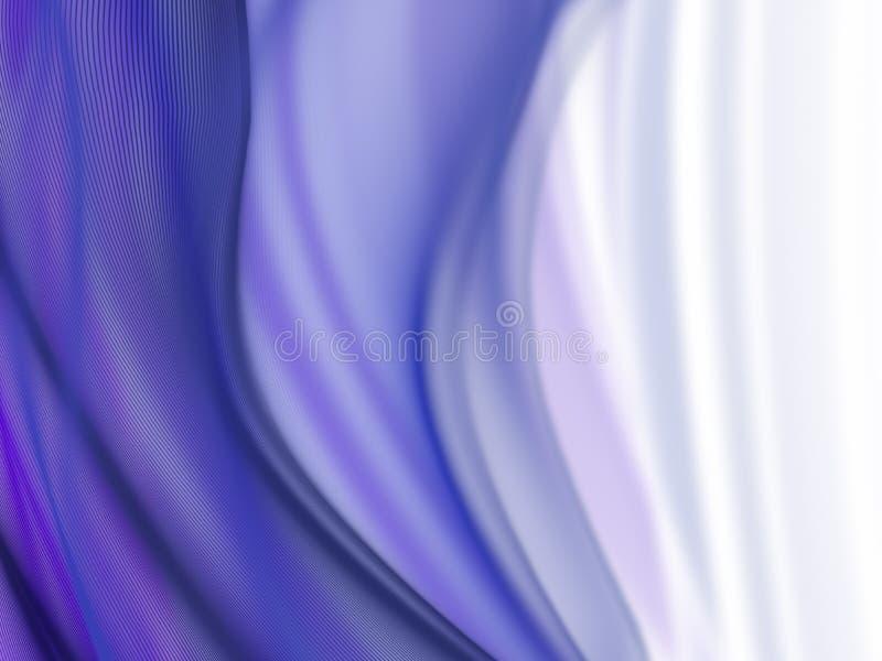 abstrakt begreppwaves royaltyfri illustrationer