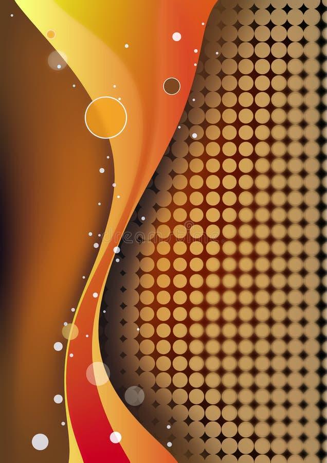abstrakt begreppwaves vektor illustrationer