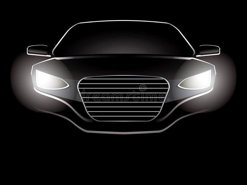abstrakt bil stock illustrationer