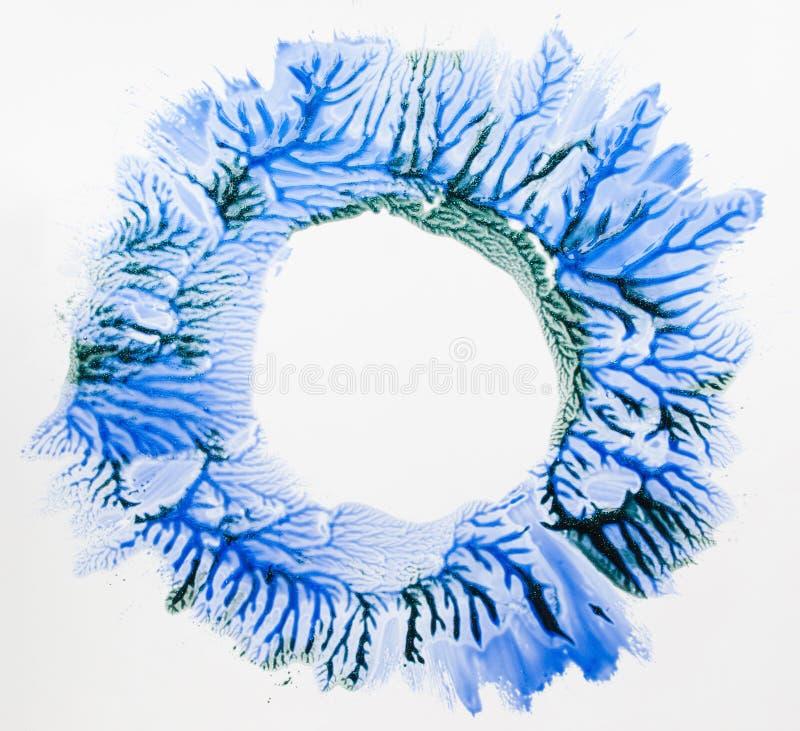 Abstrakt bild av fritt utrymme för vinterskog arkivfoton