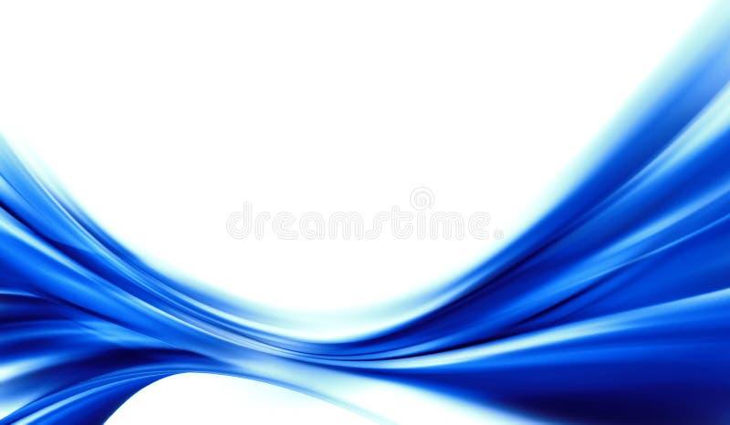 Abstrakt blå bakgrund stock illustrationer