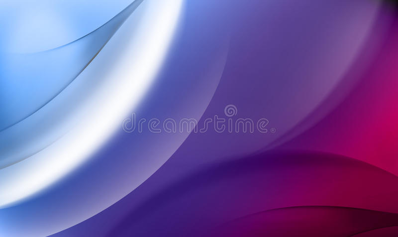 Abstrakt blå bakgrund med rosa linjer