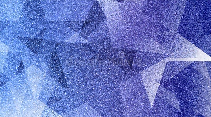 Abstrakt blå bakgrund skuggade randig modell och kvarter i diagonala linjer med blå textur för tappning arkivfoton