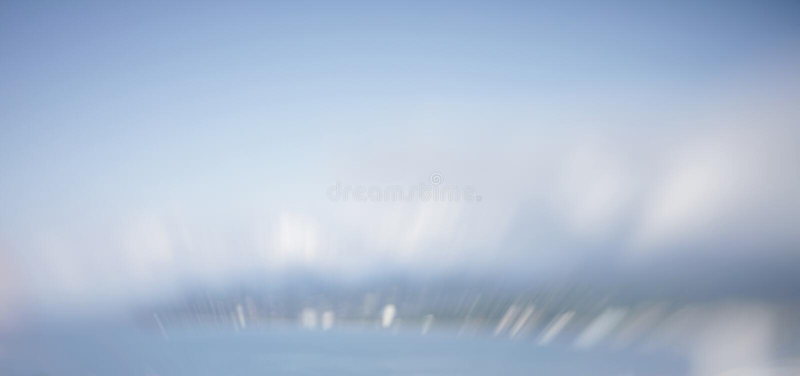 Abstrakt blå blinkabakgrund för suddighet slapp fokus arkivfoton