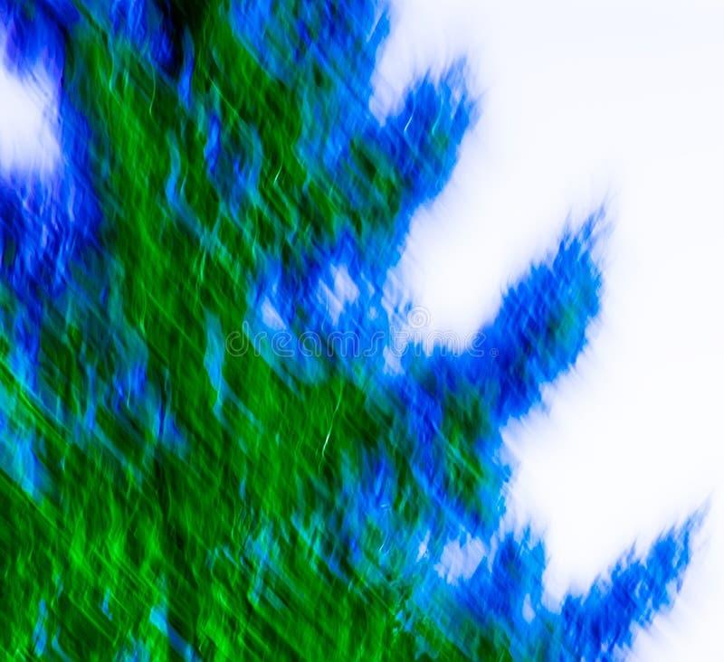 abstrakt blå green royaltyfria bilder