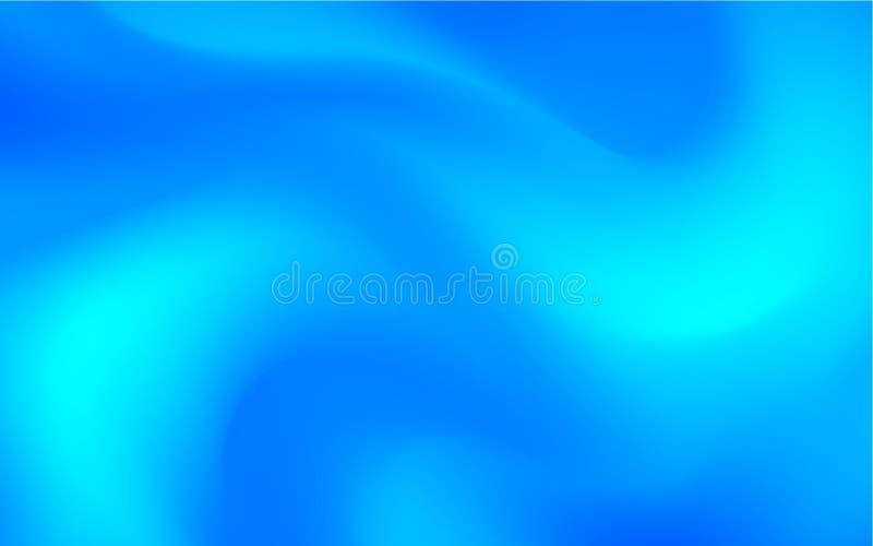 Abstrakt blå lutningbakgrund, vektorillustration vektor illustrationer