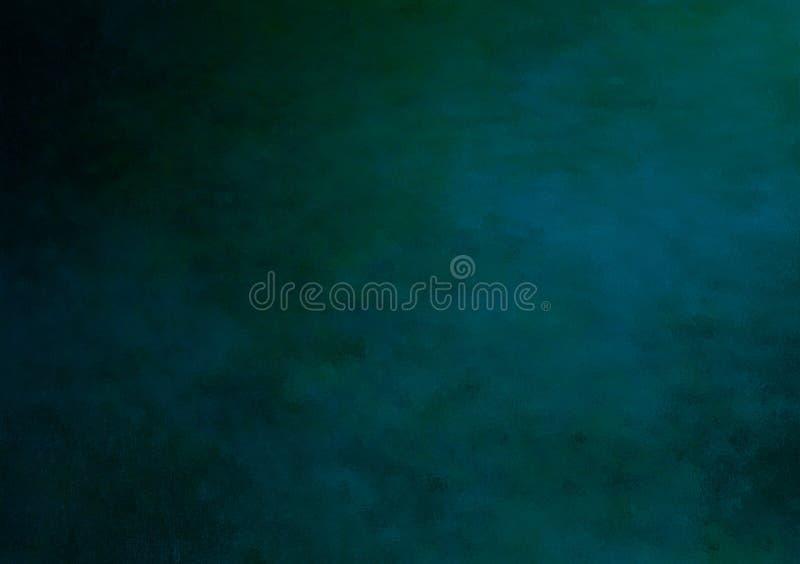 Abstrakt blå molnig texturerad bakgrundsdesign stock illustrationer