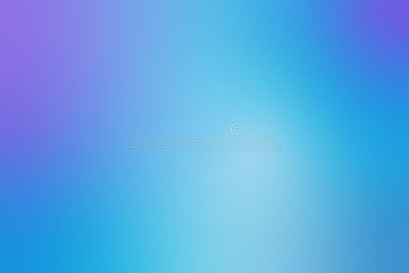 Abstrakt blå och purpurfärgad färgingreppslutning för bakgrund, - vektor vektor illustrationer