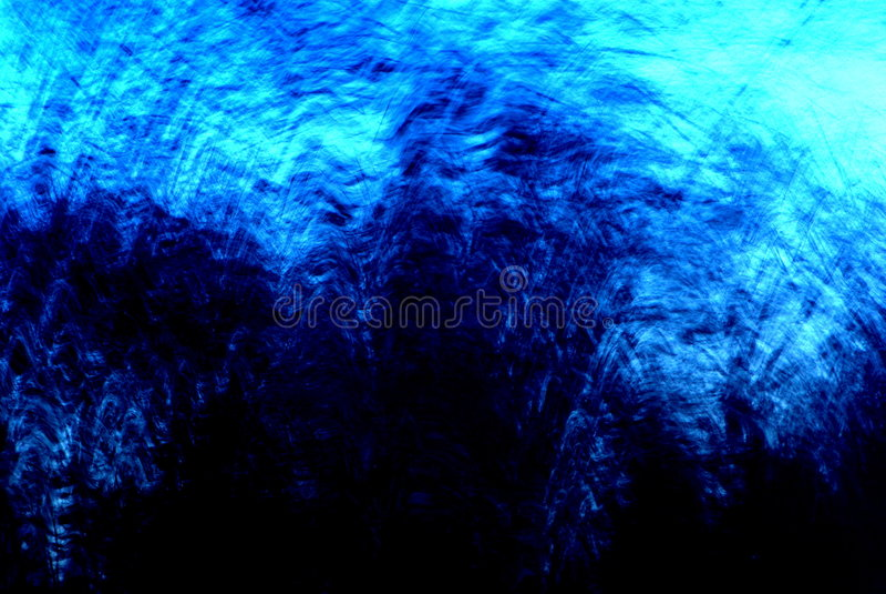 abstrakt blå storm royaltyfria bilder