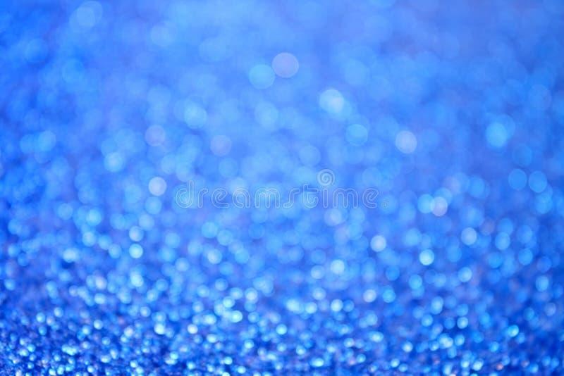 Abstrakt blått bubblar bakgrund arkivfoton