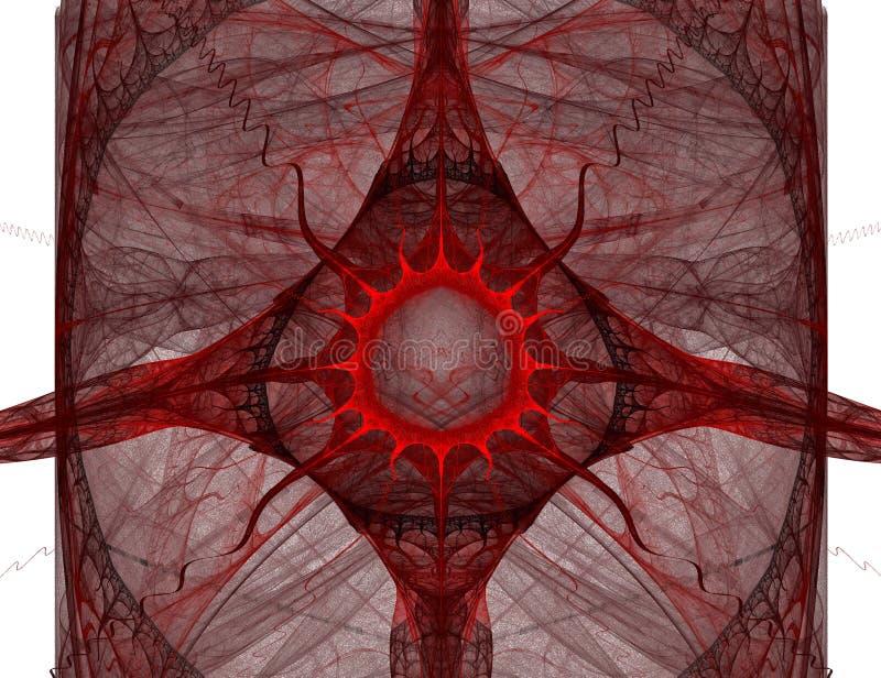 Abstrakt blod tappar arkivbild