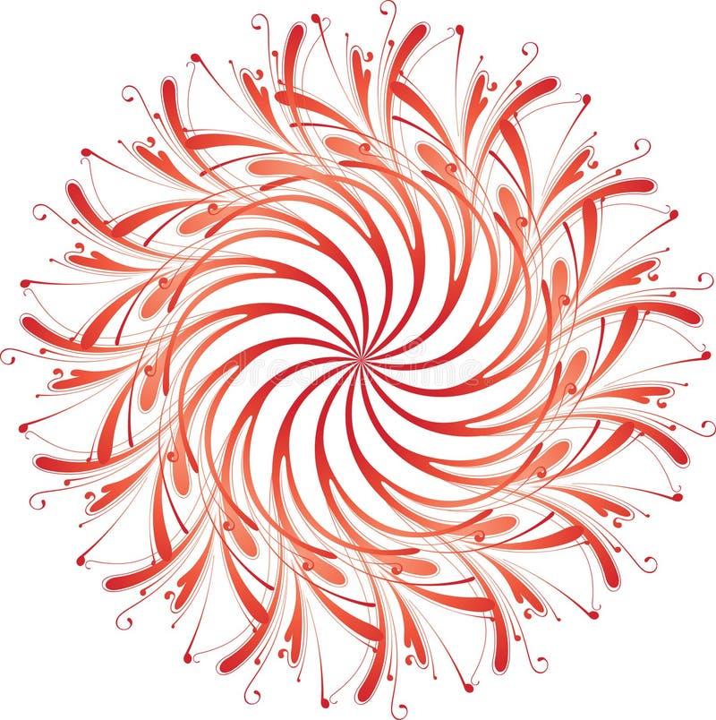 abstrakt blom- royaltyfri fotografi
