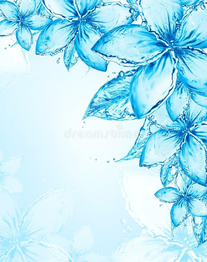 Abstrakt blom- bakgrund royaltyfria foton