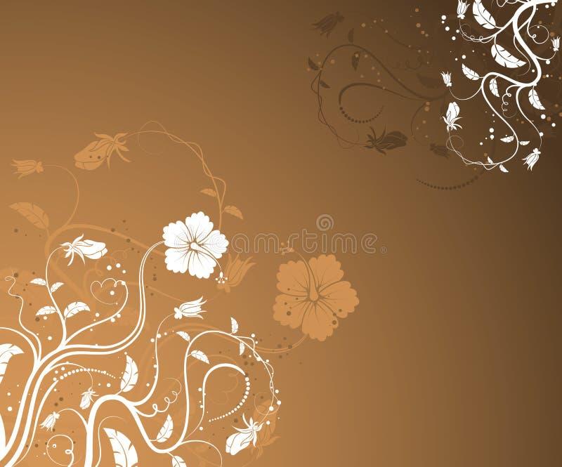 abstrakt blomma royaltyfri illustrationer