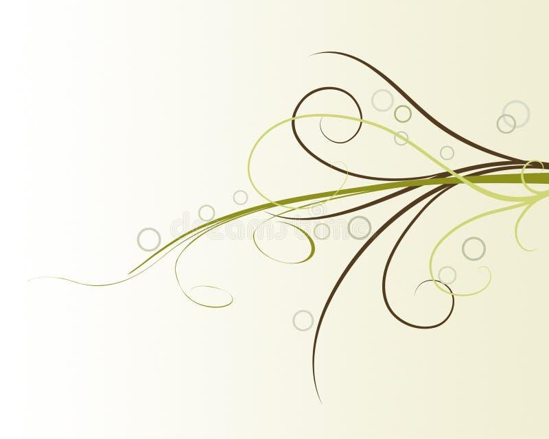 abstrakt blomma för bakgrundsdesignelement stock illustrationer