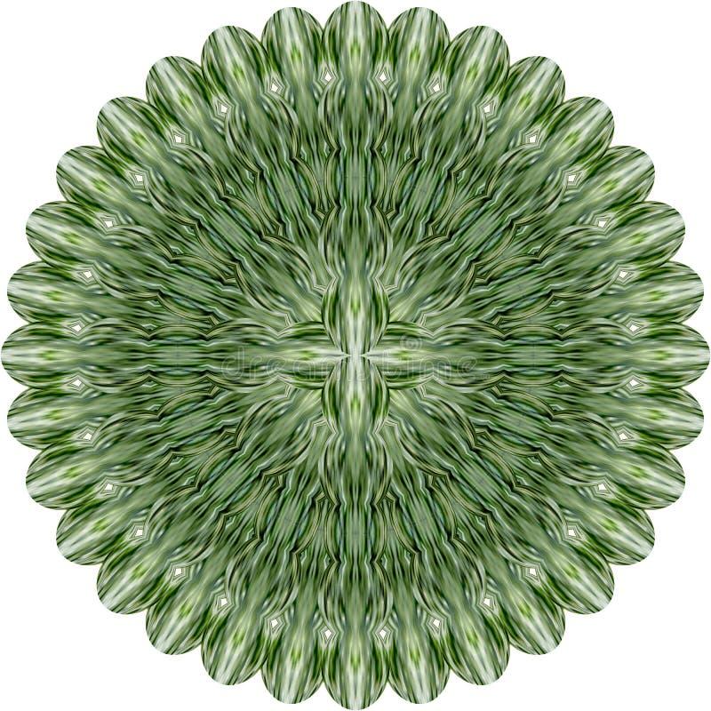 abstrakt blommagreen royaltyfri illustrationer