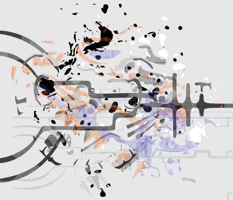 Abstrakt blure royaltyfri illustrationer