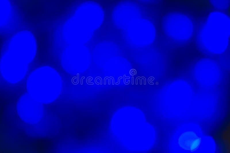 Abstrakt Bokeh textur färgrika blått Defocused bakgrund gjorde suddig ljust ljus royaltyfri fotografi