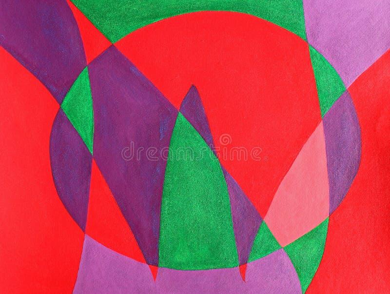abstrakt bokstäver som målas nu vektor illustrationer