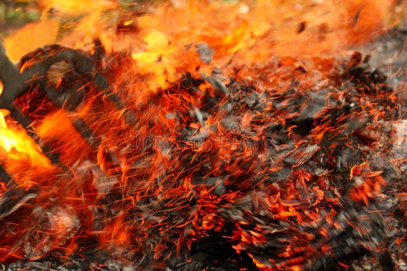 abstrakt brand arkivfoto