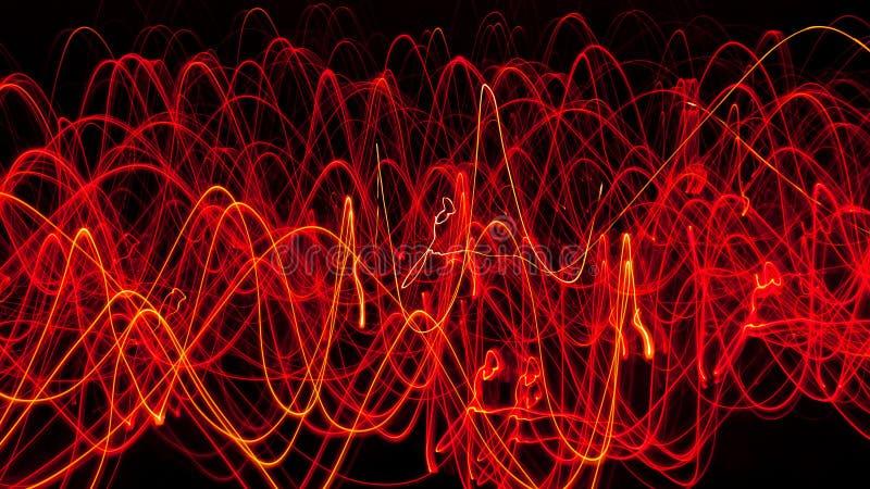abstrakt brandlinjer royaltyfria foton